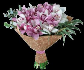 Букеты из орхидеи