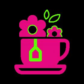 Цветочное чаепитие