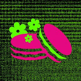 Цветы + макаронс (кофейня Шоко)