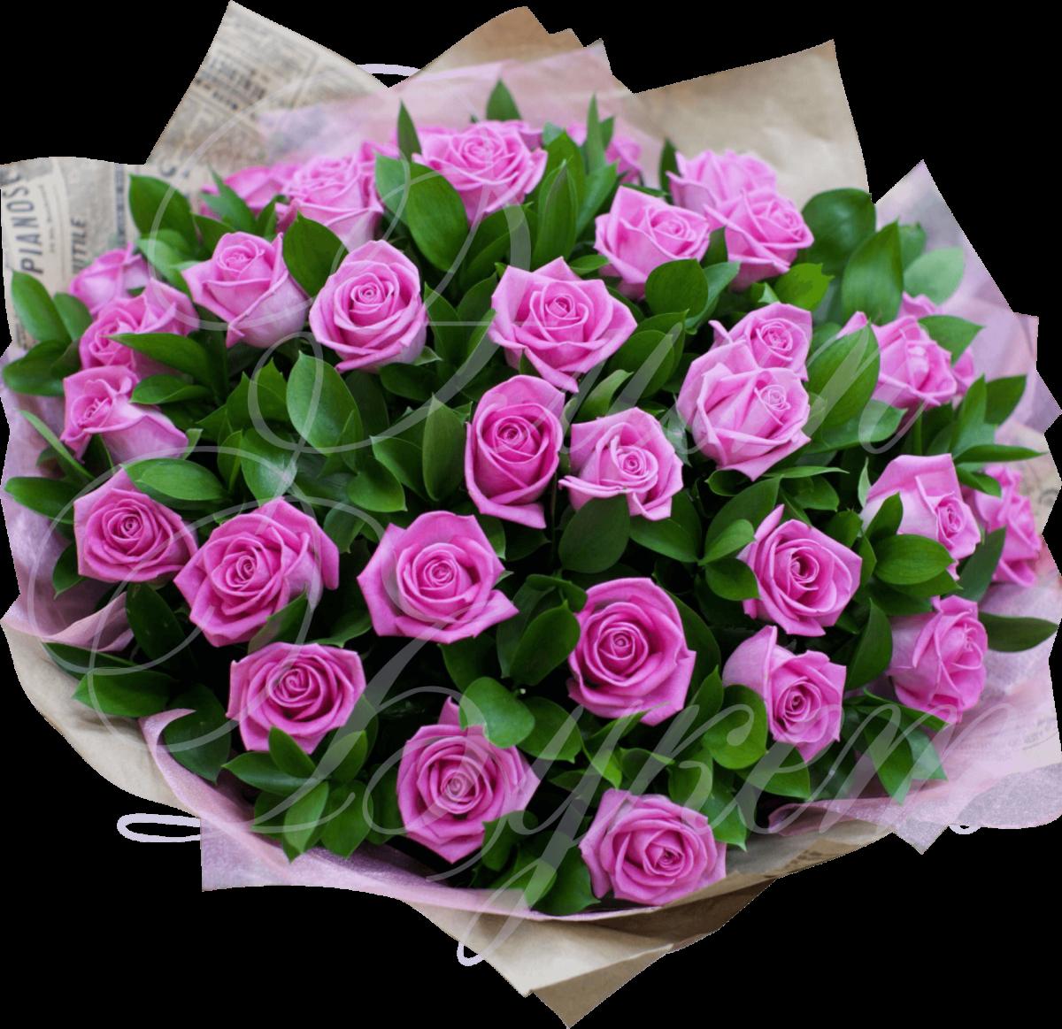 Цветов, букеты из уральских роз