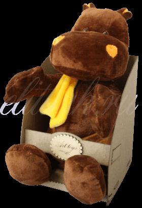 Бегемот в желтом шарфе