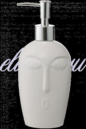 Белый Керамический Диспенсер-Лицо