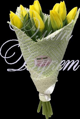 «Для самой красивой» из 9 тюльпанов