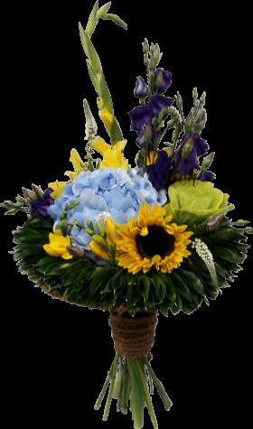 Букет из цветов «Солнечное утро»