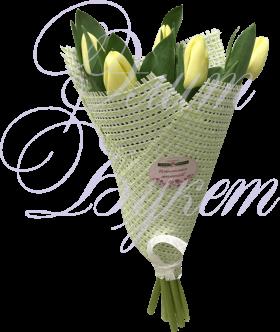 Букет из 5 тюльпанов «Уралочка»