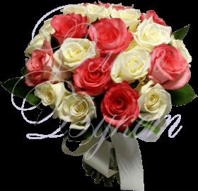Букет невесты «Белая ночь»