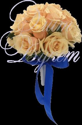 Букет невесты «Розовое счастье»