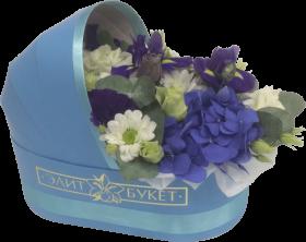 Букет в люльке «Для новорожденного»