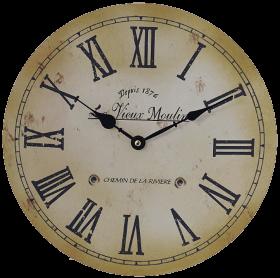 Часы с римскими цифрами