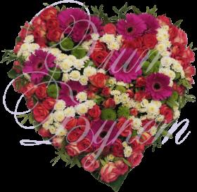 Композиция сердце «Любовь»
