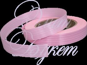 Лента пластик розовая