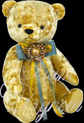 Медведь БернАрт горчичный
