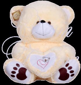 Мишка Стефан с сердцем, 80 см