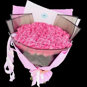 «My pink bouquet»