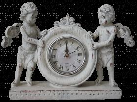 Статуэтка Ангелы с часами
