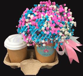 Цветочный кофе «Яркое настроение»