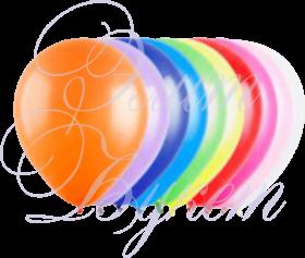Воздушный шарик с гелием, ассорти, 30 см