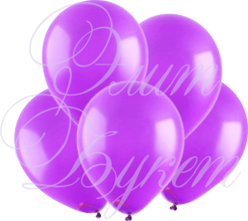Воздушный шарик с гелием, фиолетовый, 30 см