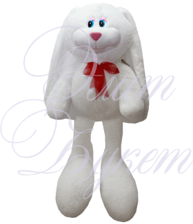 Заяц Биг Роджер белый 90 см