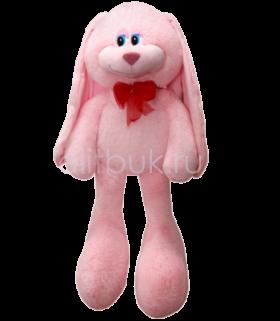 Заяц Биг Роджер розовый 90 см