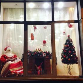 Зимняя витрина «Санта Клаус»