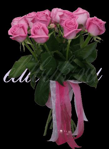 15 роз «Аква»