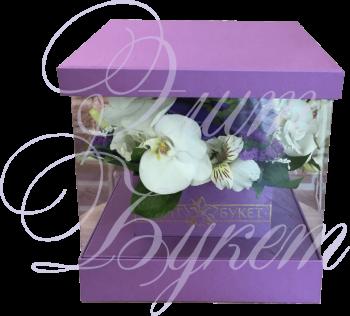 Букет в коробке «Моя прекрасная леди»