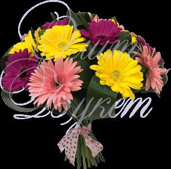 Букет из цветов «Контраст»