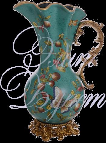 кувшин-ваза Бабочки 35х24х50