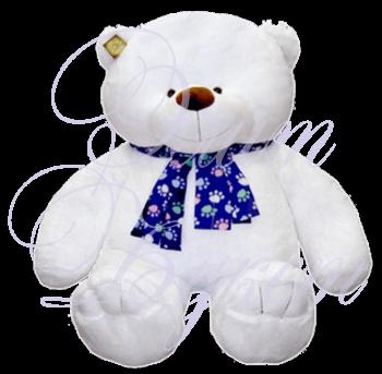 Мишка Ваня белый 110 см