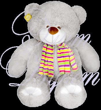 Мишка Семен серый 110 см