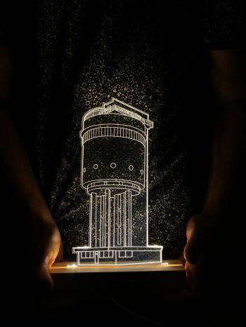 Ночник Белая башня Екатеринбург
