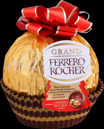 Шоколад фигурный Grand Ferrero Rocher 125 г