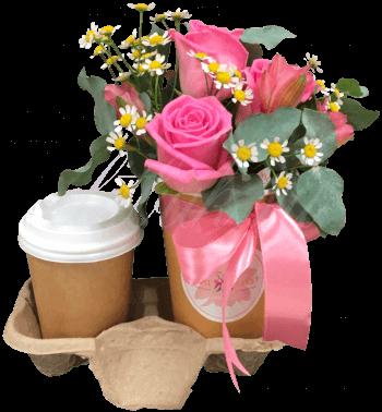 Цветочный кофе «Чувство любви»