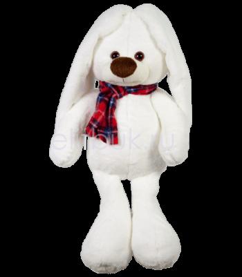 Заяц Любим белый 50 см