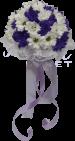 «Шар любви» фиолетовый