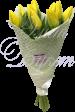 Букет из 9 тюльпанов «Для самой красивой!»