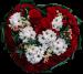 Сердце из цветов «Valentine's day»