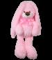 Заяц Любим розовый 50 см