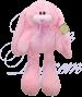 Заяц Роджер розовый 55 см