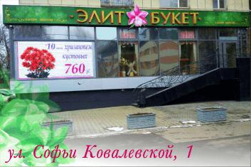 Элит-Букет на Софьи Ковалевской, 1